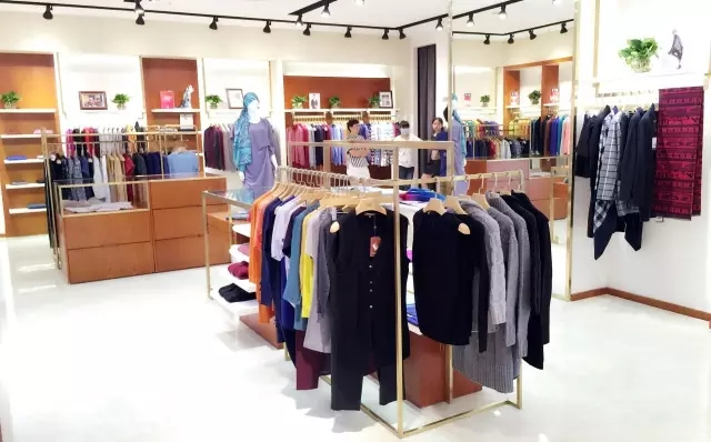 Springair-textile-group-cashmere-yarn-and-apparel-wuhan-boutique-store-opening (4)